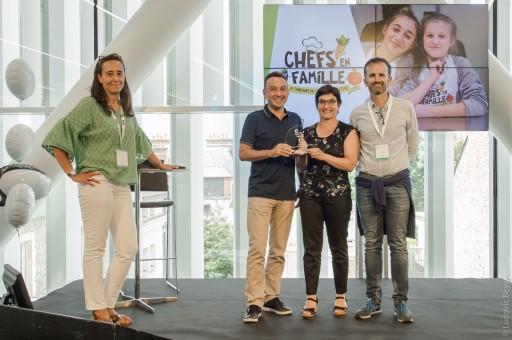 Rochexpo remporte le SYT d'OR pour son concours «Chefs en Famille» 2017