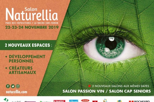 Les nouveautés se multiplient sur le salon Naturellia!