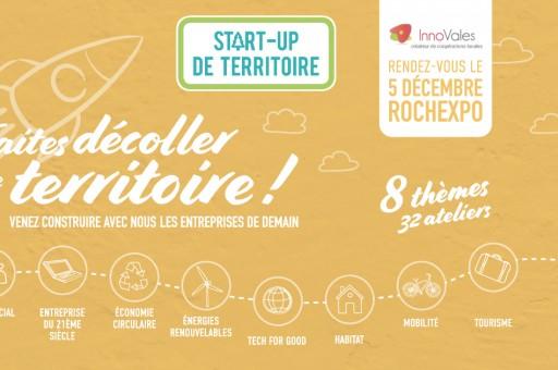 Rochexpo accueille la soirée créative Start Up de Territoire