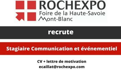 Rochexpo recrute!