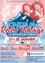 Salon Mont-Blanc Rétro Vintage